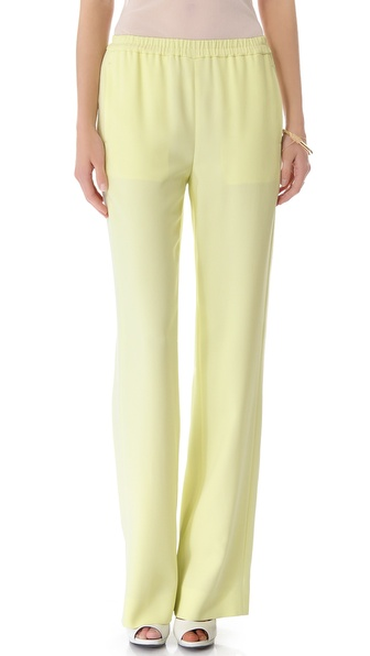 Calvin Klein Collection Parrot Pants