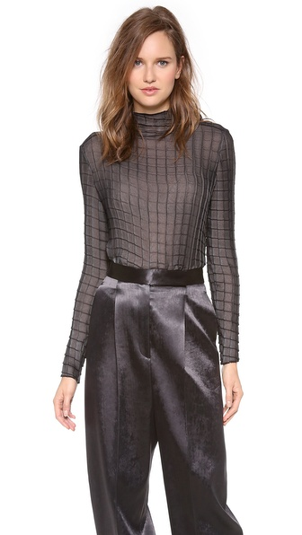 Calvin Klein Collection Samad Long Sleeve Top