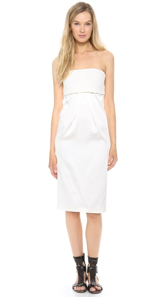 Calvin Klein Collection Uva Strapless Dress
