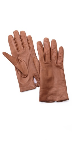 Carolina Amato Full Leather Gloves at Shopbop / East Dane