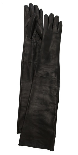 Carolina Amato Leather Opera Gloves at Shopbop / East Dane