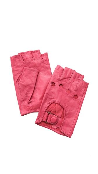 Carolina Amato Fingerless Moto Gloves
