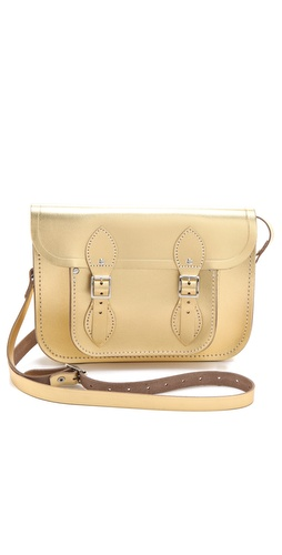 Cambridge Satchel Metallic Satchel at Shopbop / East Dane