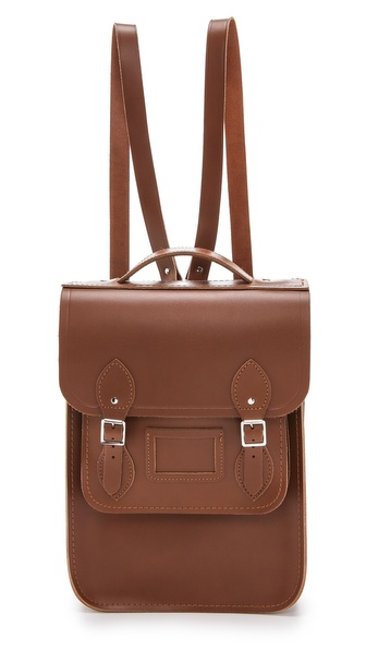 Cambridge Satchel Portrait Backpack - Vintage at Shopbop / East Dane