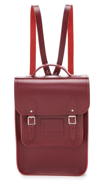 Cambridge Satchel Portrait Backpack - Chianti at Shopbop