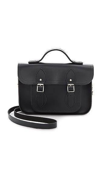 Классическая сумка-портфель с верхней ручкой, 11 дюймов