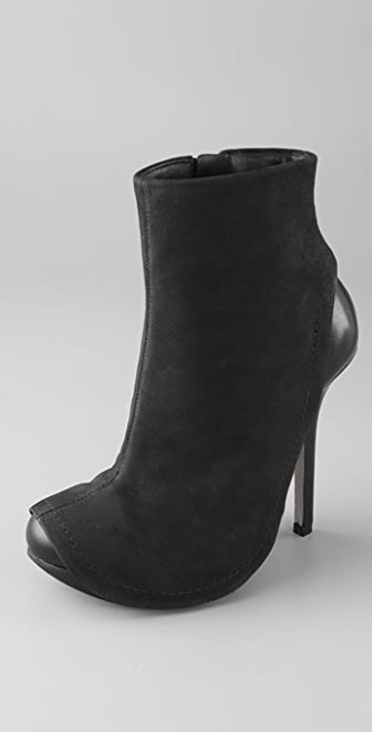 Camilla Skovgaard Apron Booties on Lug Sole