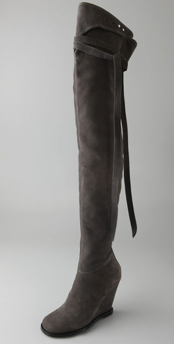 Camilla Skovgaard Over the Knee Wedge Boots