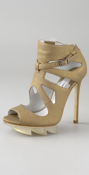 Camilla Skovgaard Cutout Saw Tooth Sandals
