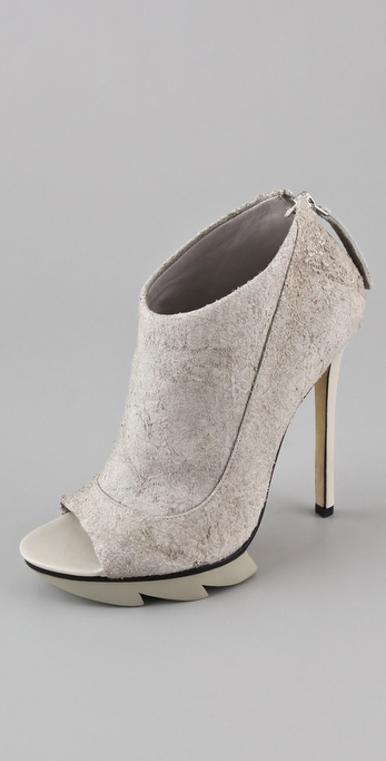 Camilla Skovgaard Open Toe Saw Booties