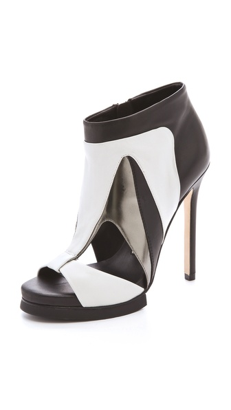 Camilla Skovgaard Open Toe Cutout Booties