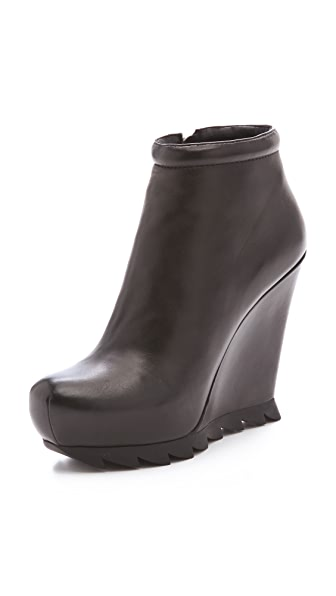 Camilla Skovgaard Wedge Saw Sole Booties