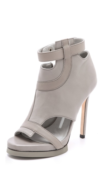 Camilla Skovgaard Road Line Stiletto Booties