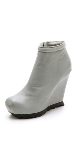 Camilla Skovgaard Ankle Wedge Booties with Saw Sole at Shopbop / East Dane