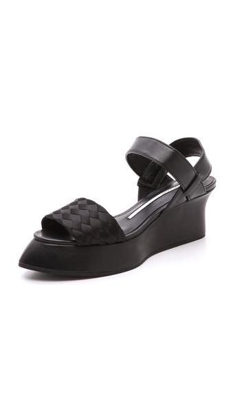 Camilla Skovgaard Low Woven Sweeper Wedge Sandals