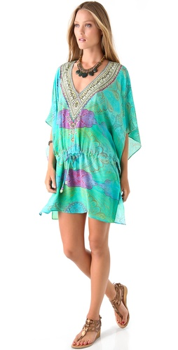 Camilla Antigua Drawstring Caftan