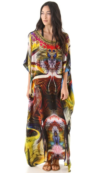 Camilla Round Neck Cover Up Dress