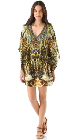 Camilla Drawstring Mini Cover Up