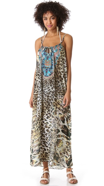 Camilla Beach House Azul Cover Up Dress