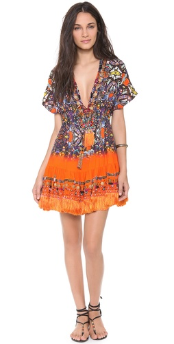 Camilla African Queen Short Cover Up Dress at Shopbop / East Dane