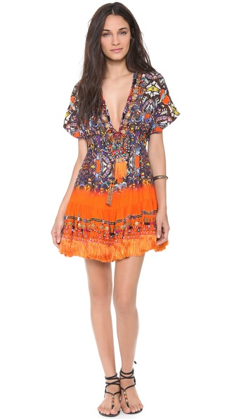 Camilla African Queen Short Cover Up Dress