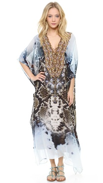 Camilla At Talons Length Laced Caftan