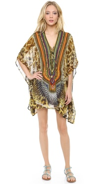 Camilla At Talons Length Short Caftan