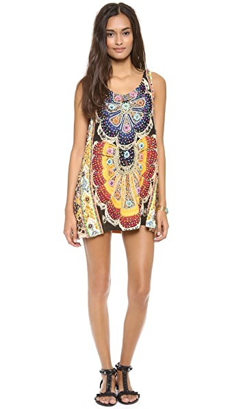 Camilla Round Neck Mini Dress