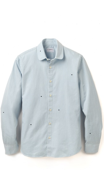 CAMO Brisbane Round Collar Shirt