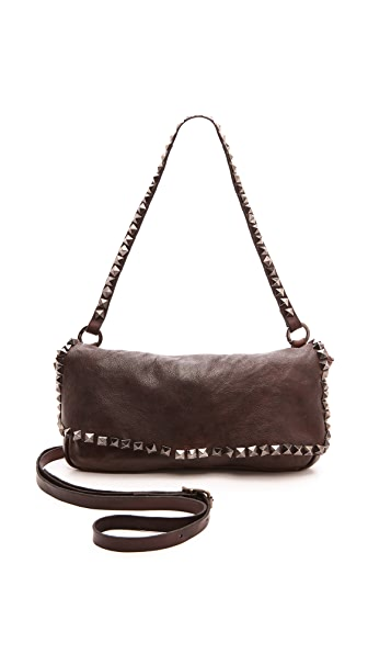 Campomaggi Washed Leather Shoulder Bag