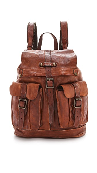 Campomaggi Washed Leather Backpack