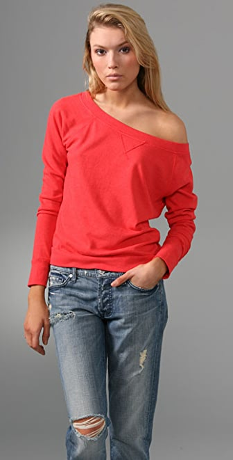 C&C California Luxe Fleece Top
