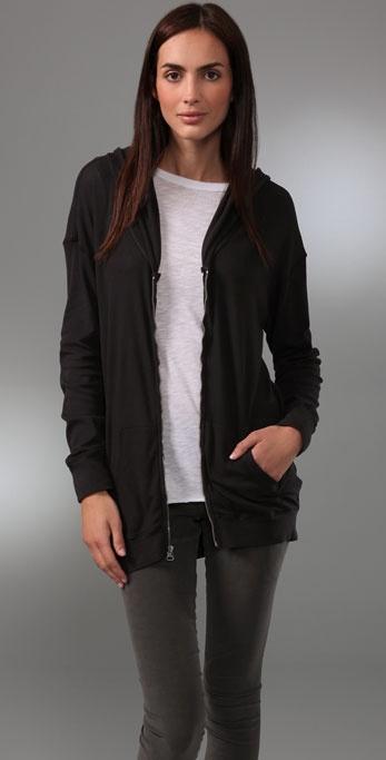 C&C California Long Sleeve Zip Hoodie
