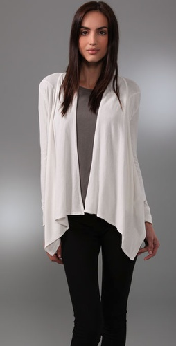C&C California Drape Front Cardigan