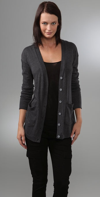 C&C California Button Back Cardigan