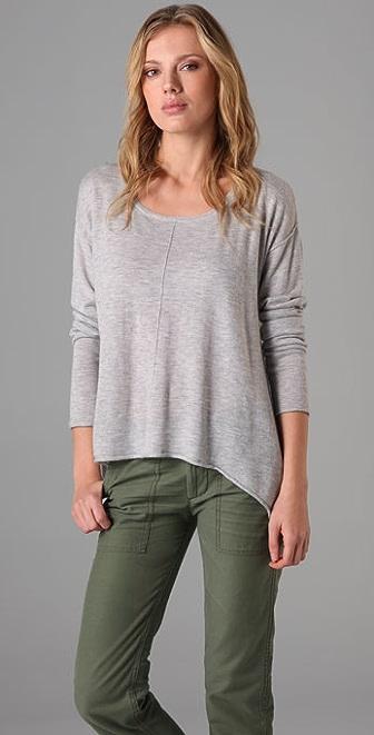 C&C California High/Low Scoop Sweater