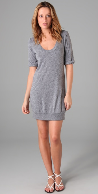 C&C California Scoop Neck Dress