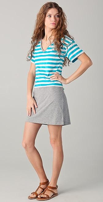 C&C California Striped Tee Dress