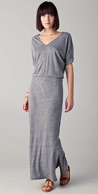 C&C California V Neck Maxi Dress