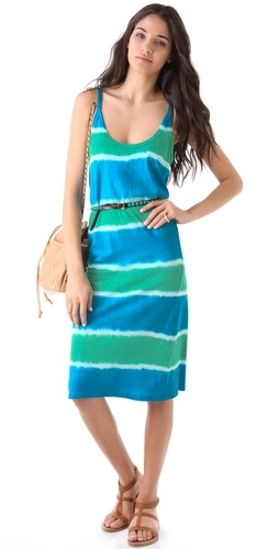 C&C California Sahara Tie Dye Tank Dress