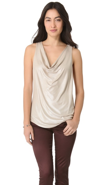 C&C California Cowl Neck Tank