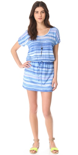 Shop C&C California Roll Sleeve Dress with Cutout and C&C California online - Apparel, Womens, Dresses, Day,  online Store