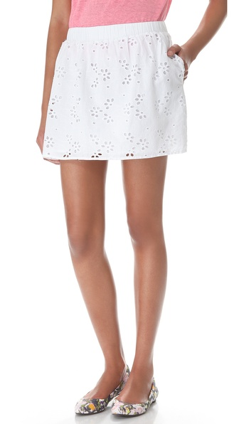 C&C California Eyelet Skirt