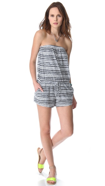 C&C California Strapless Romper