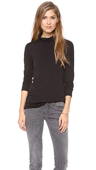 C&C California Long Sleeve Turtleneck Top