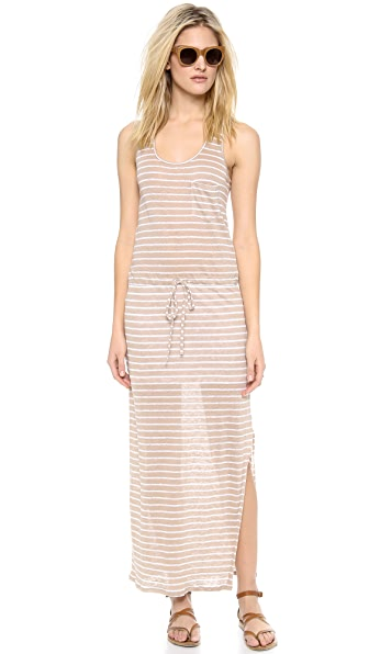 C&C California Racer Back Maxi Dress