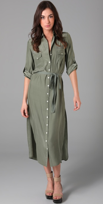 Candela Long Safari Dress