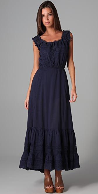 Candela Sleeveless Victorian Long Dress