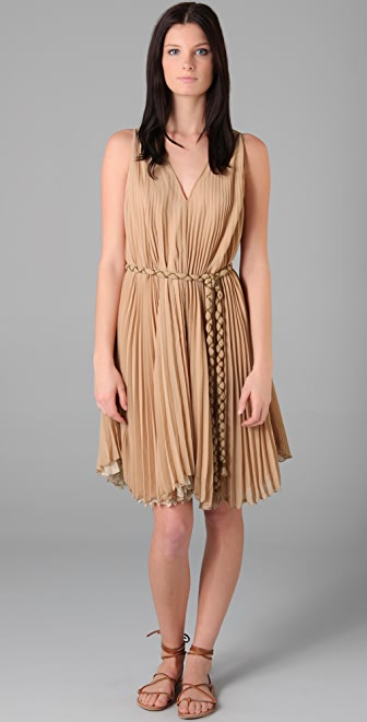 Candela Short Pleated Dress