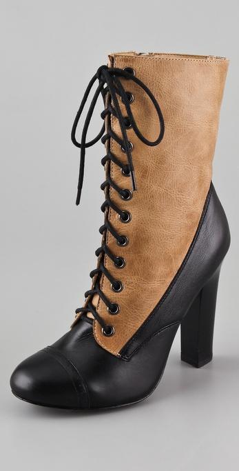 Candela Oliver High Heel Booties